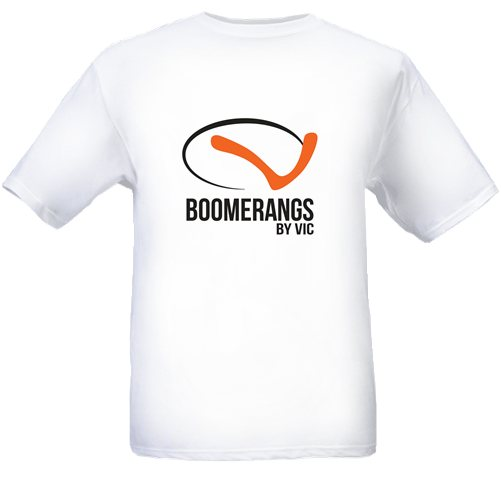 Boomerangs by Vic T-Shirt