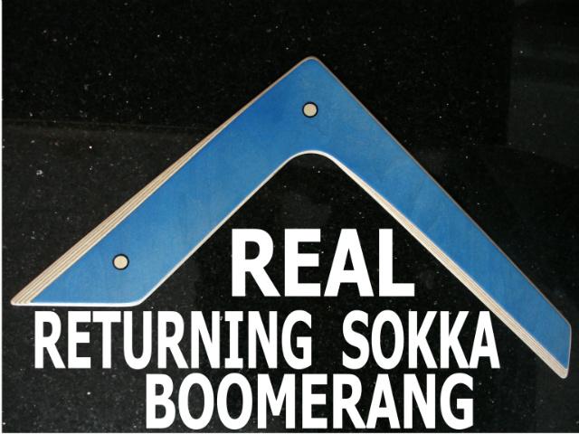 Sokka Boomerang